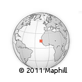 Outline Map of Pikine