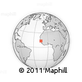 Outline Map of Kolda
