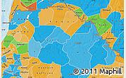 Political Map of Saint Louis