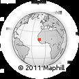 Outline Map of Tambacounda