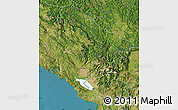 Satellite Map of Crna Gora