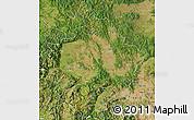 Satellite Map of Kosovo