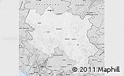 Silver Style Map of Srbija