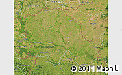 Satellite Map of Vojvodina
