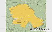 Savanna Style Map of Vojvodina