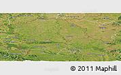 Satellite Panoramic Map of Vojvodina