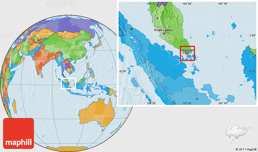 Political location map of singapore gumiabroncs Images