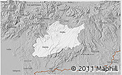 Gray 3D Map of Krupina