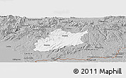 Gray Panoramic Map of Krupina