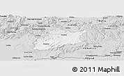 Silver Style Panoramic Map of Krupina