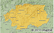 Savanna Style Map of Banska Bystrica