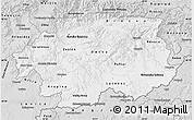 Silver Style Map of Banska Bystrica