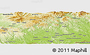 Physical Panoramic Map of Poltar