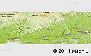 Physical Panoramic Map of Velky Krtis