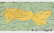Savanna Style Map of Kosice