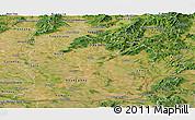 Satellite Panoramic Map of Nitra