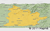 Savanna Style Panoramic Map of Nitra