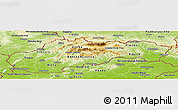 Physical Panoramic Map of Slovakia