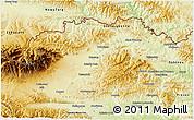 Physical 3D Map of Kezmarok