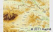 Physical Map of Kezmarok