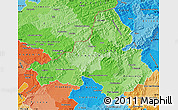 Political Shades Map of Trencin