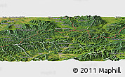 Satellite Panoramic Map of Cadca