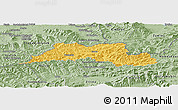Savanna Style Panoramic Map of Cadca