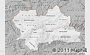 Gray Map of Zilina
