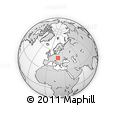 Outline Map of Martin