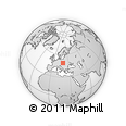 Outline Map of Zilina