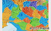 Political Map of Ajdovscina