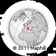 Outline Map of Ajdovscina