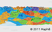 Political Panoramic Map of Ajdovscina