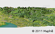 Satellite Panoramic Map of Ajdovscina