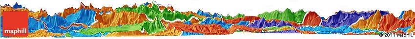 Political Horizon Map of Bohinj