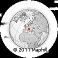 Outline Map of Bohinj