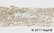 Classic Style Panoramic Map of Bohinj