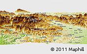 Physical Panoramic Map of Bohinj