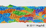 Political Panoramic Map of Bohinj