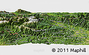 Satellite Panoramic Map of Bohinj