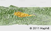 Savanna Style Panoramic Map of Bohinj