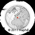 Outline Map of Cerklje Na Gorenjskem