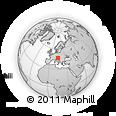 Outline Map of Crna Na Koloskem