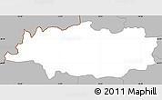 Gray Simple Map of Crna na Koloskem