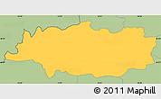 Savanna Style Simple Map of Crna na Koloskem