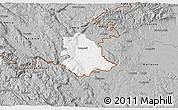 Gray 3D Map of Crnomelj