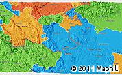 Political 3D Map of Crnomelj