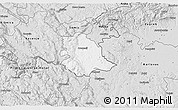 Silver Style 3D Map of Crnomelj