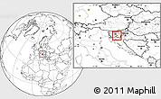 Blank Location Map of Dobrepolje