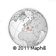 Outline Map of Gornji Grad